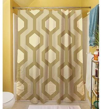 "Thumbprintz Carpet Cream Shower Curtain, 71"" x 74"""