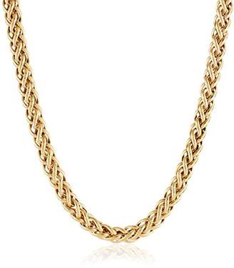 SPIGA 14k Gold-Bonded Sterling Silver Two-Tone Chain Necklace