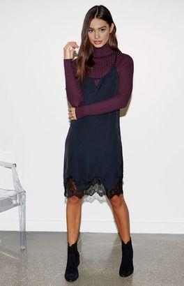 Kendall & Kylie Lace Hem Silky Slip Dress $44.95 thestylecure.com