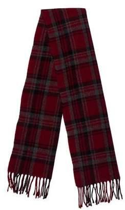 Brooks Brothers Plaid Wool Scarf