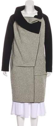 Roland Mouret Wool Knee-Length Coat