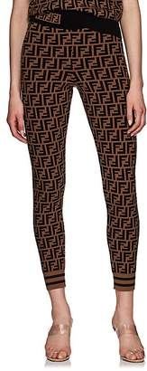 Fendi Women's Zucca Knit Leggings