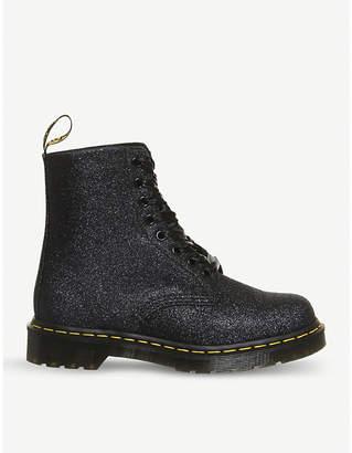 Dr. Martens Pascal 8-eye glitter boots