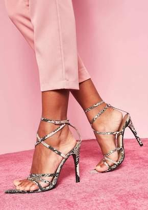 761855e4a4b Snake Print Heels - ShopStyle UK
