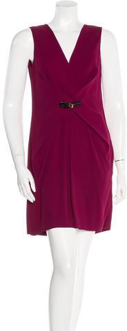 GucciGucci Buckle-Accented Mini Dress