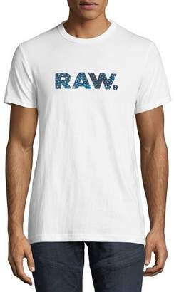 G Star G-Star Mai Graphic Cotton T-Shirt