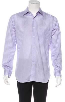Corneliani Striped Dress Shirt