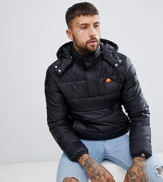 Ellesse Filardi padded overhead jacket in black
