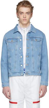 Misbhv Blue Denim Dystom Jacket