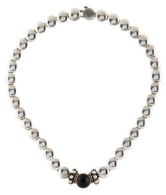 Lagos Onyx Collar Necklace