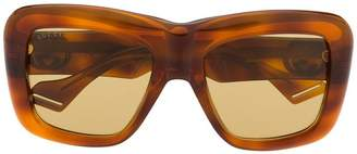 Gucci classic mass-shape sunglasses