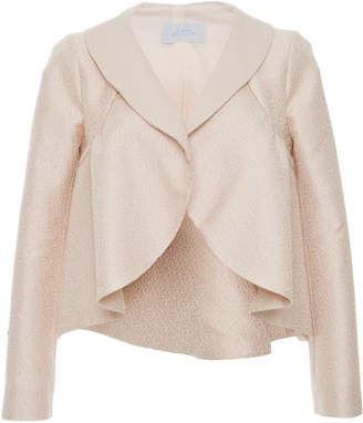 Luisa Beccaria Linen Fitted Jacket