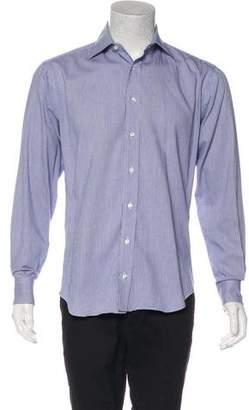 Barneys New York Barney's New York Trim Fit Dress Shirt