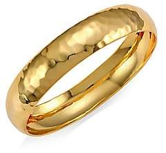 Nest 22K Goldplated Small Hammered Bangle