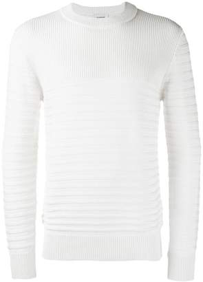 Dondup ribbed crew neck sweater