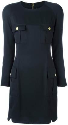 Pierre Balmain flap pockets dress