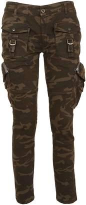 Faith Connexion Camouflage Cargo Trousers