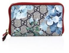 Gucci Gucci GG Blooms Zip-Around Coin Purse