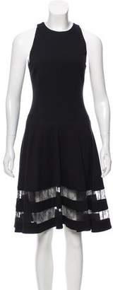 Jason Wu Lace-Accented Sleeveless Dress