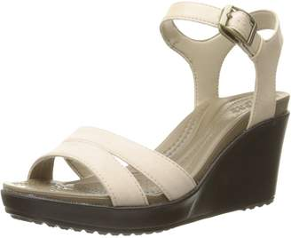 782b9d52528d Crocs Women s Leigh Ii Ankle Strap W Wedge Sandal