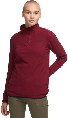 The North Face TKA Glacier Snap-Neck Fleece Pullover - Women's