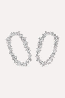 Ana Khouri Iolanda 18-karat White Gold Diamond Earrings
