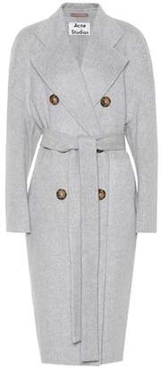 Acne Studios Cales Double wool and cashmere coat