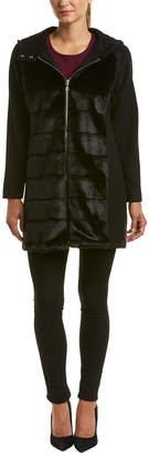 Trina Turk Trina By Gilda Wool-Blend Coat