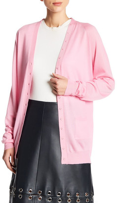 tibi Featherweight Cashmere Cardigan $395 thestylecure.com