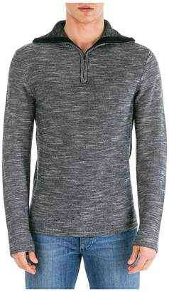 Emporio Armani Jumper Sweater Pullover With Zip