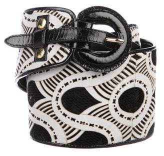Mayle Leather Hip Belt