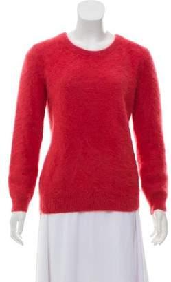Theory Angora Long Sleeve Sweater