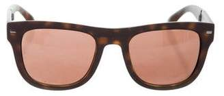 Dolce & Gabbana Tortoiseshell Folding Sunglasses