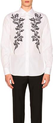 Alexander McQueen Front Detail Shirt