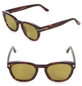 Tom Ford 51MM Round Sunglasses