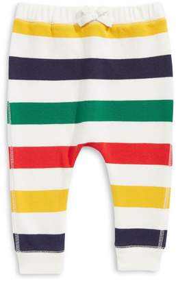 HBC Stripes Baby's Multi Stripe Fleece Pants