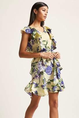 Forever 21 Flounce Gingham Dress