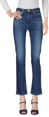 ALEXA CHUNG FOR AG Denim pants - Item 42511538