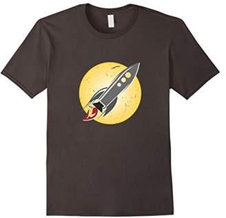 Retro Rocket Shirt Vintage Spaceship T-shirt