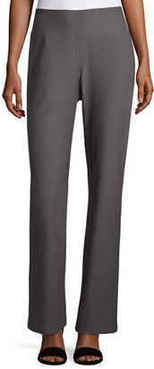 Eileen Fisher Stretch Crepe Boot-Cut Pants $168 thestylecure.com