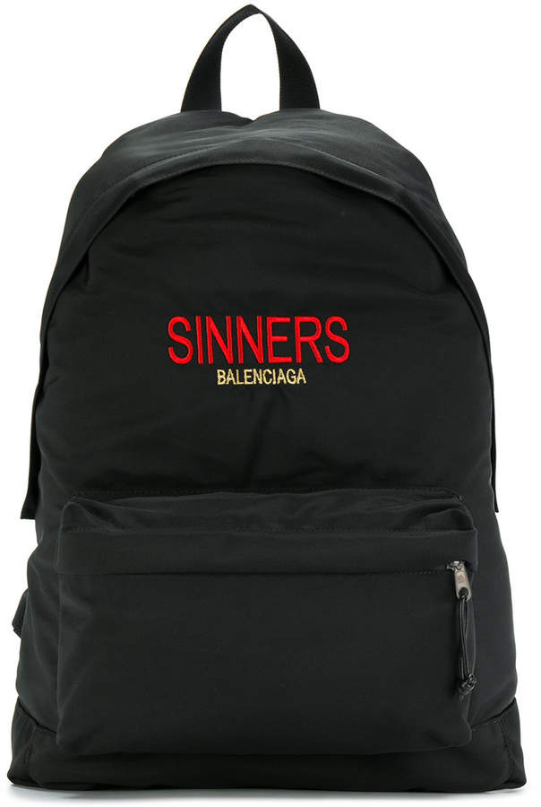 Balenciaga Bal Explorer Sinners Backpack