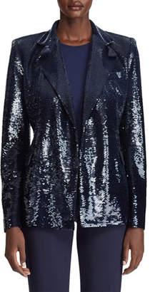 Ralph Lauren Camden Sequined Blazer Jacket