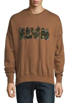 Eleven Paris Crewneck Cotton Sweater