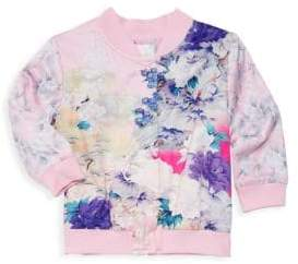 Camilla Baby Girl's Floral Bomber Jacket
