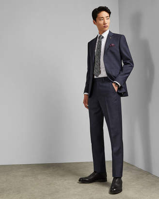 Ted Baker WESTT Debonair subtle check wool trousers