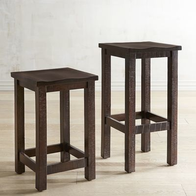 Parsons Tobacco Brown Backless Counter & Bar Stool