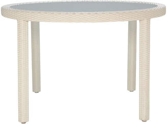 Janus et Cie Janusfiber Round Glass Dining Table