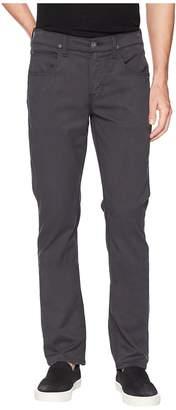 Hudson Byron Straight Zip Twill in Metal Men's Jeans