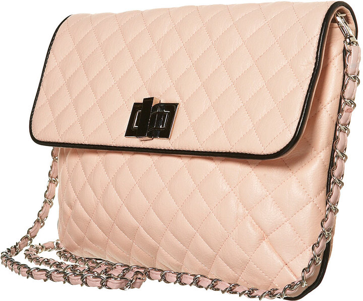 Large Quilted Cross Body Bag