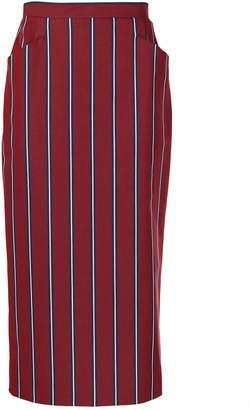 Stella Jean Stripe Tube Skirt